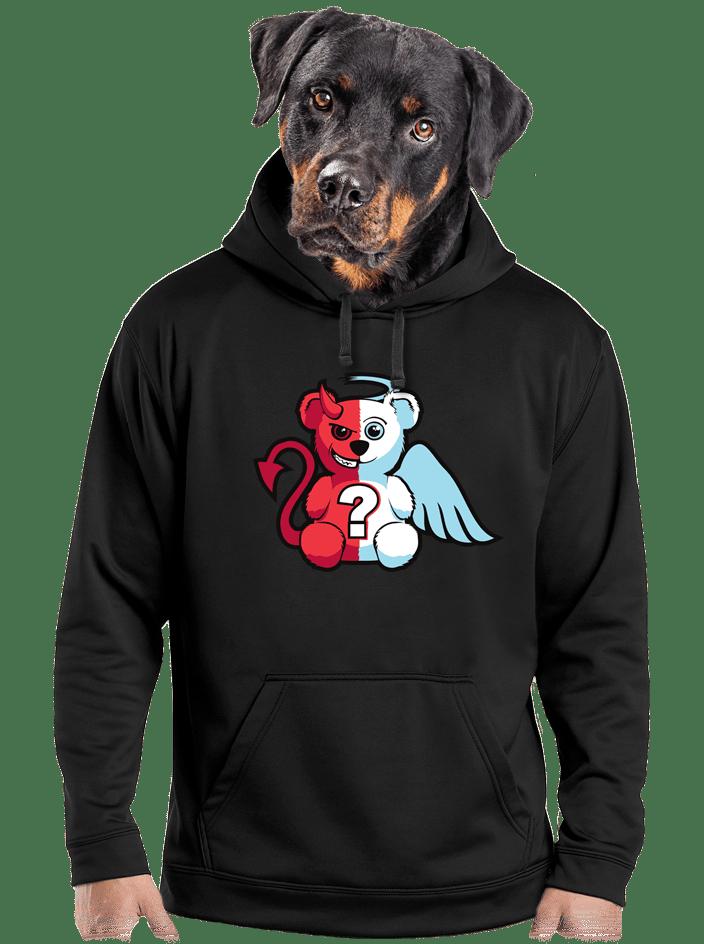 Angyal vagy ördög férfi pulóver
