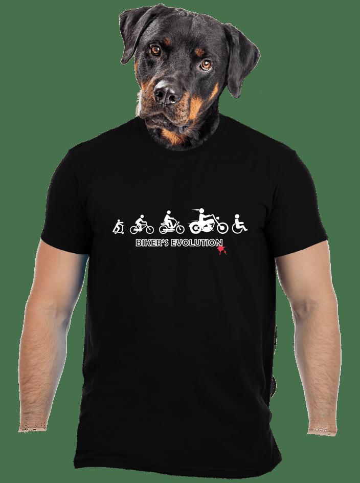 Bikers evolution férfi póló