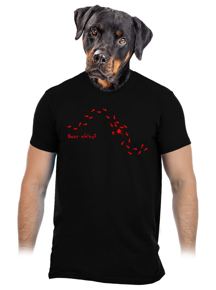 Beer effect férfi póló