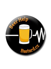 Beer help kitűző