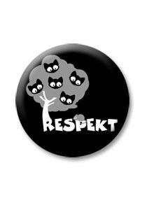Tisztelet kitűző