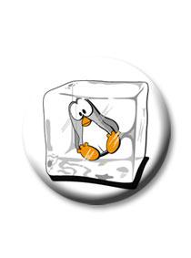 Pingvin kitűző
