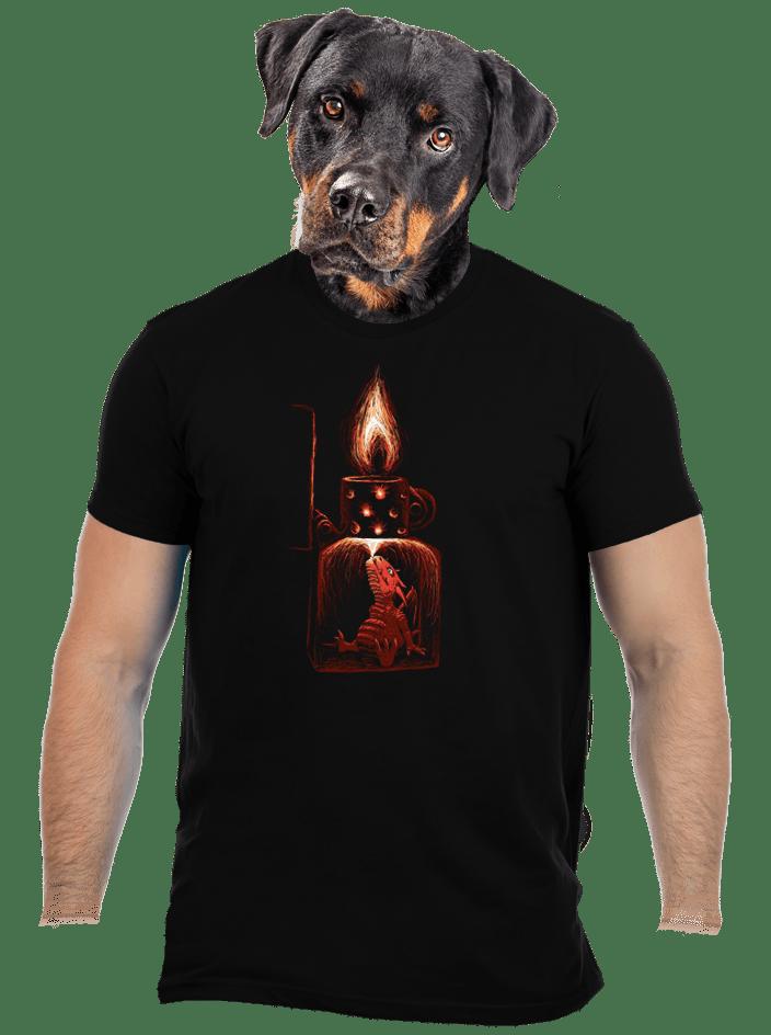 Öngyújtó férfi póló
