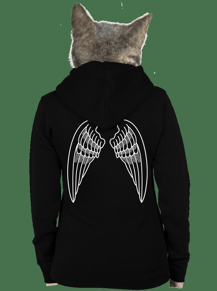Szárnyak női pulóver – hát