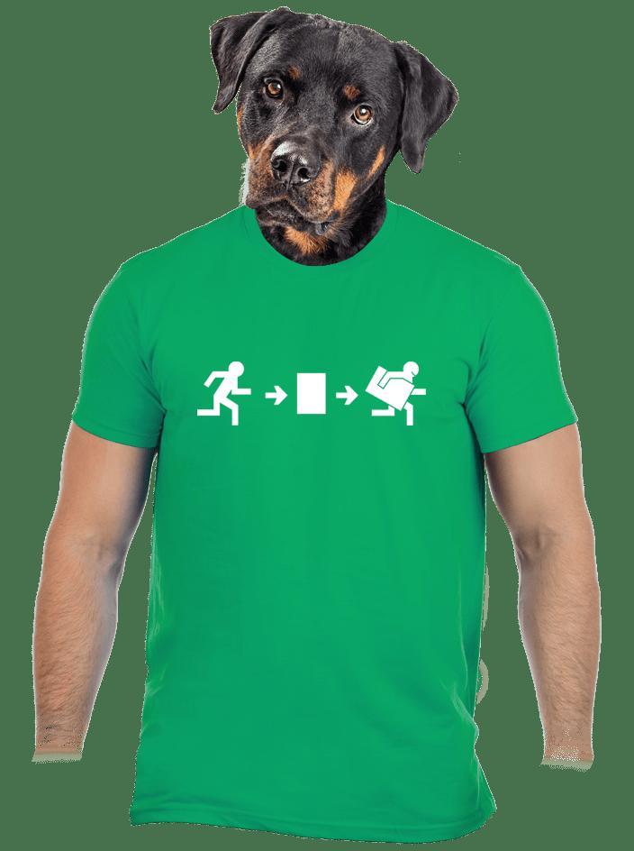 Menekülés magyar módra férfi póló