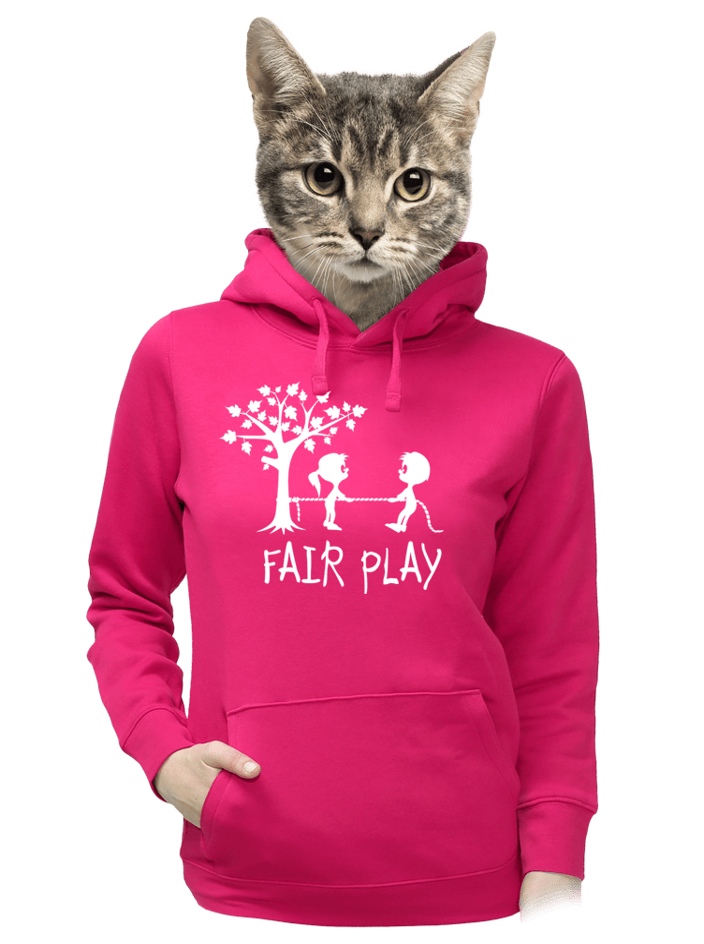 Fair play női pulóver fukszia