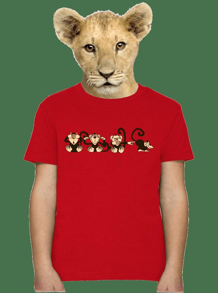 Majmok gyerek póló