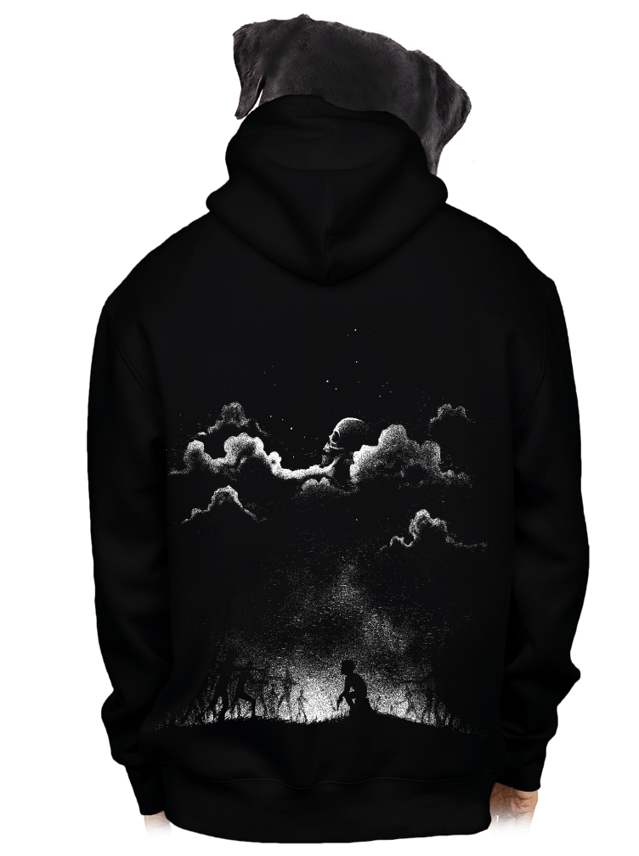 Nightmare férfi pulóver – hát