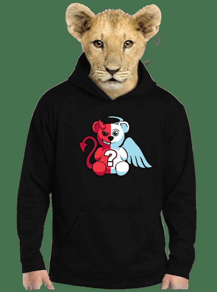 Angyal vagy ördög gyerek pulóver