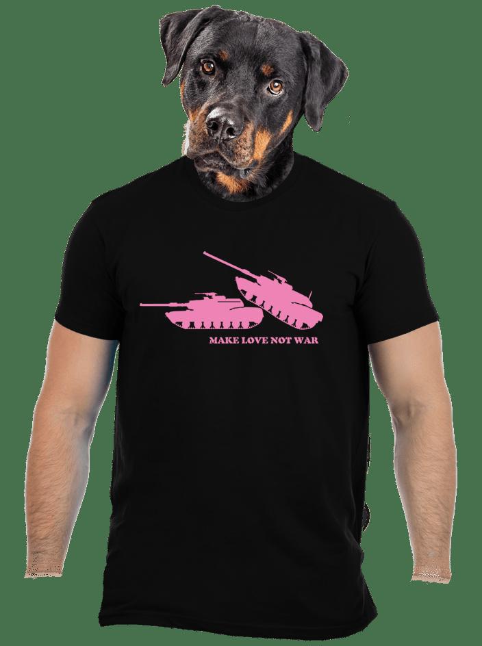 Tankok férfi póló