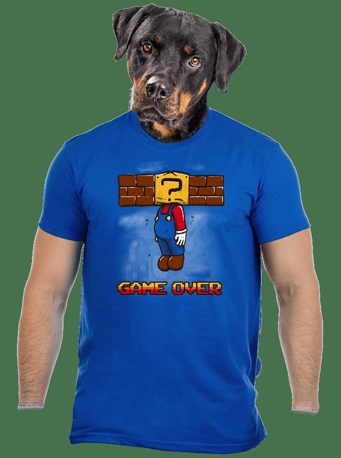 Game over férfi póló