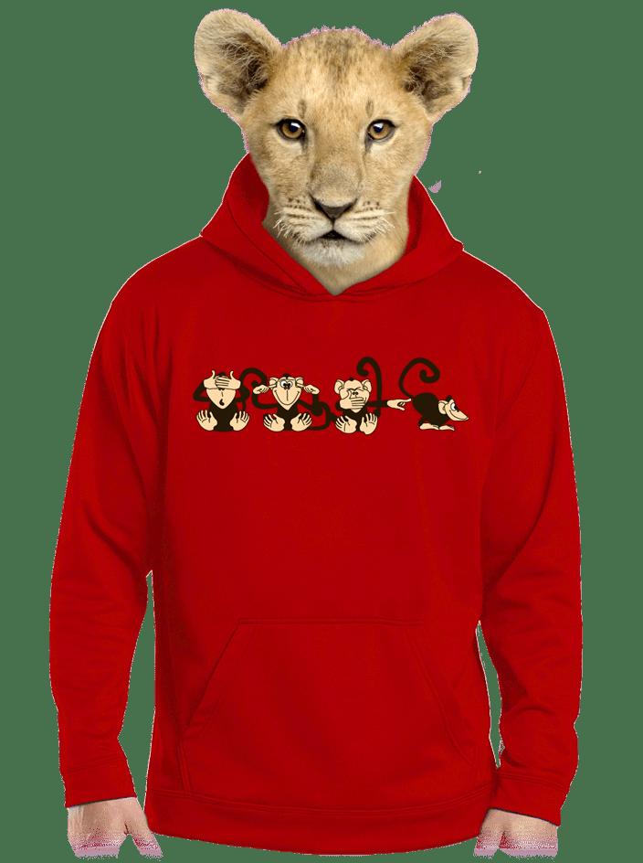 Majmok gyerek pulóver