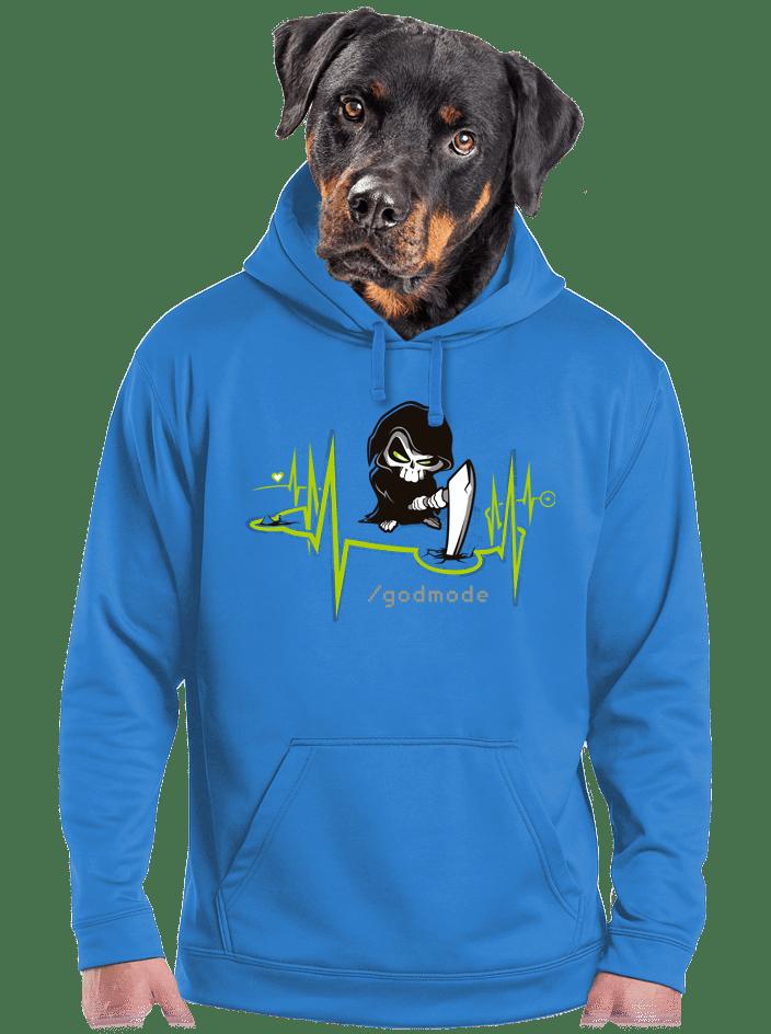 Isteni beavatkozás férfi pulóver