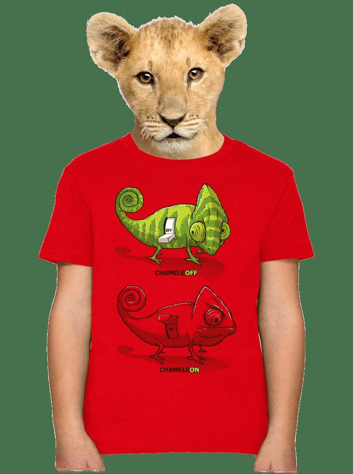 ChameleON ChameleOFF gyerek póló